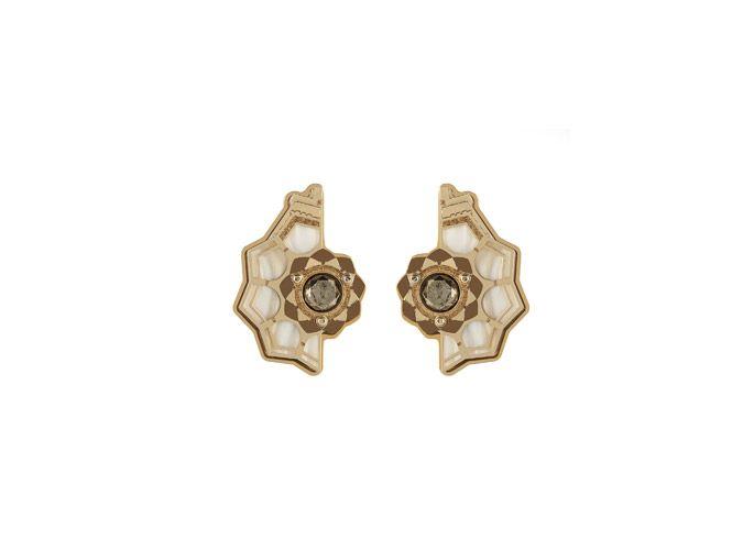 Lotus Temple Earrings