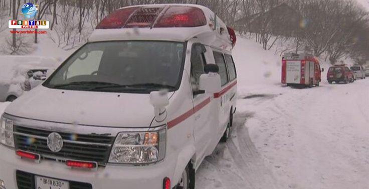 Seis estudantes foram atingidos pela avalanche na manhã desta segunda-feira durante uma atividade escolar de montanhismo. Veja mais.