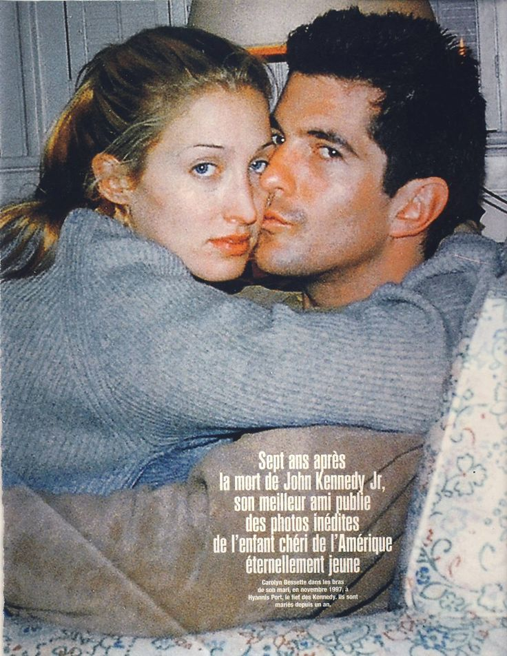 Carolyn Bessette Kennedy and John F. Kennedy Jr. - From Billy Noonan's book, 'Forever Young'.
