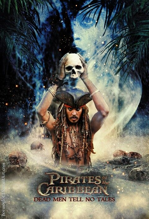 #PiratesoftheCaribbean - Dead Men Tell No Tales - Captain Jack Sparrow