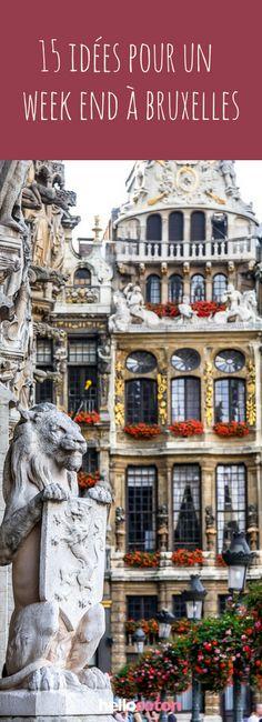 15 idées de trucs à faire pour un week-end à Bruxelles #belgique #bruxelles #weekend #voyage #roadtrip