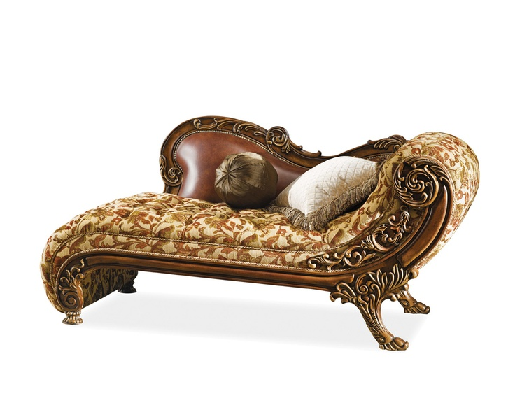 Antique chaise lounge sofa antiques pinterest for Antique style chaise lounge