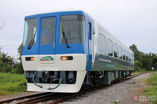 名鉄「北アルプス」と会津鉄道で使用された車両、ボルネオ島で「第3の人生」 | 乗りものニュース