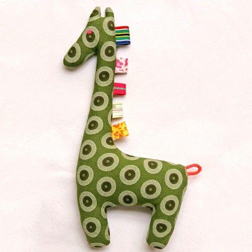 Green giraffe toy - www.utique.co.za