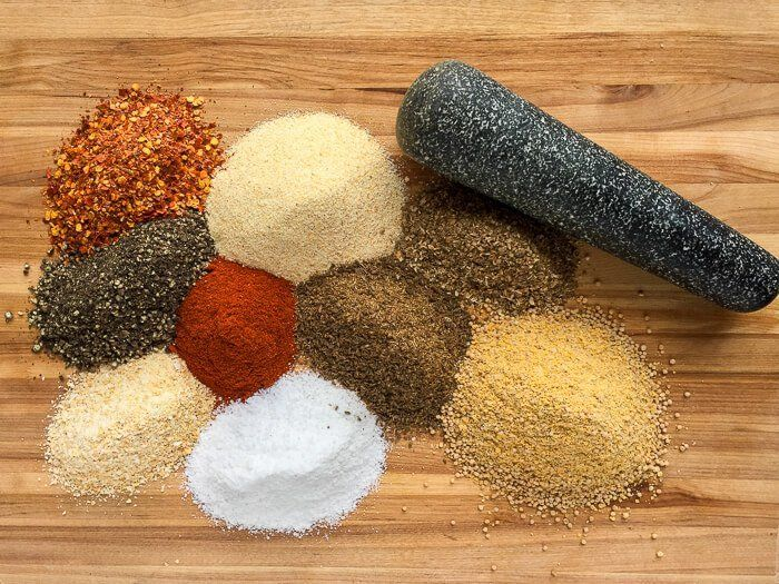 Homemade Montreal Steak Spice - less expensive + you control the salt level. A recipe for an iconic Canadian seasoning that you can easily make at home.