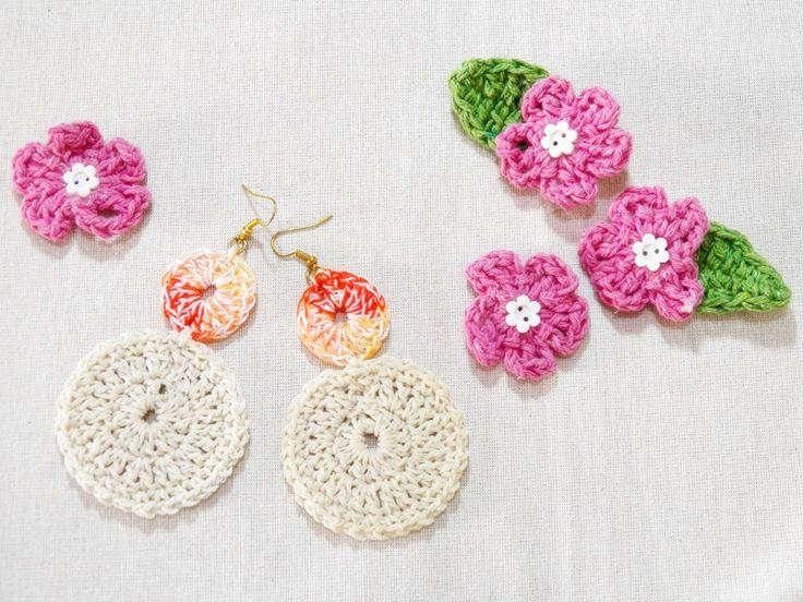Dica de moda: Meus brincos de crochê  -  Blog Dona Engenhosa