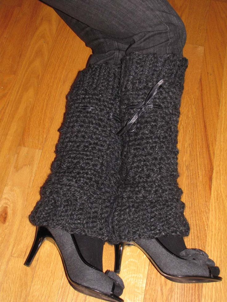 Crochet Leg Warmers : My favorite crochet leg warmers. Crochet Pinterest