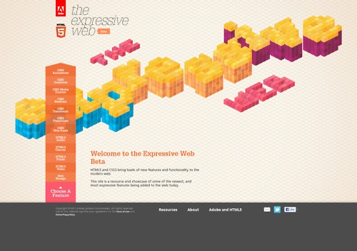 THE EXPRESSIVE WEB - Curated by Adobe.