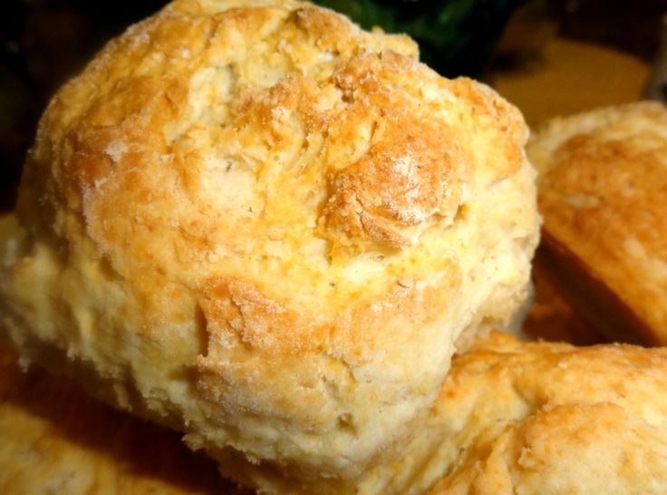 The best, cathead biscuits - biscuits as big as a cat's head.