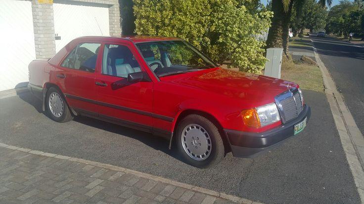 Mercedes 230E.