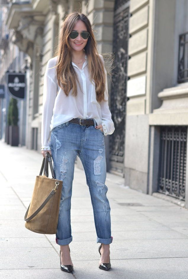 Boyfriend Jeans For Comfortable And Relaxed Style - Fashion Diva Design