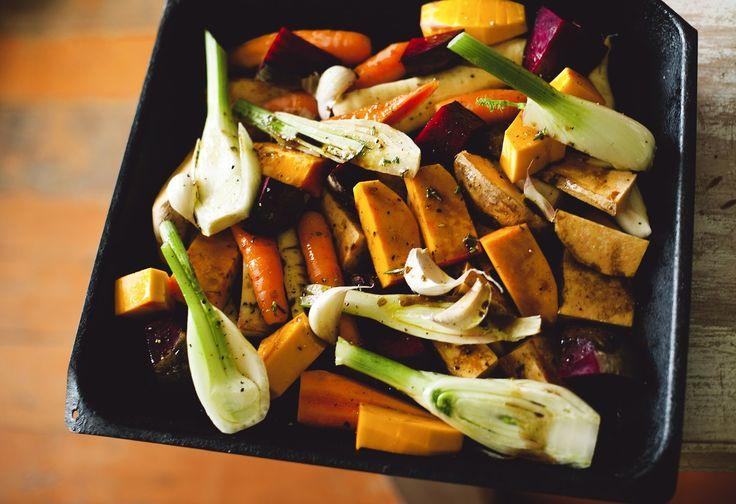 Honey Glazed Roasted Root Vegetables | Good Magazine Photography Amanda Reelick