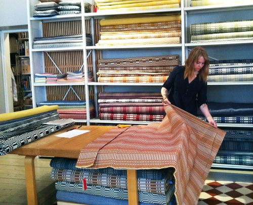 Johanna Gullichsen Textiles shop