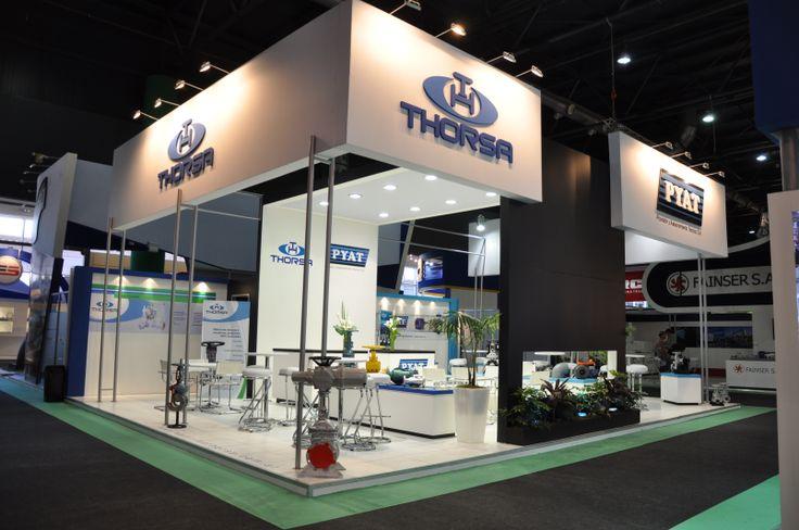 Modular Exhibition Stand Goals : Exposición oil gas la rural buenos aires