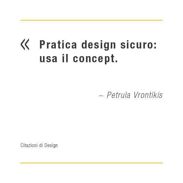 Citazioni di design: Petrula Vrontikis