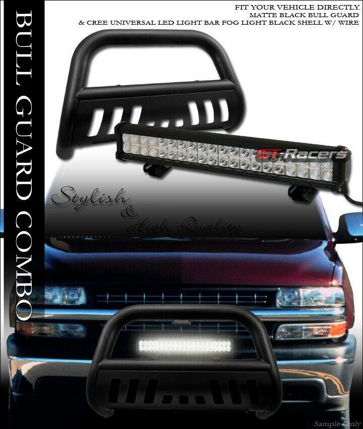 Sponsored Ebay Matte Black Bull Bar Guard 120w Cree Led Light For 99 06 Silverado Sierra 1500 Black Bull Bull Bar Cree Led Light Bar