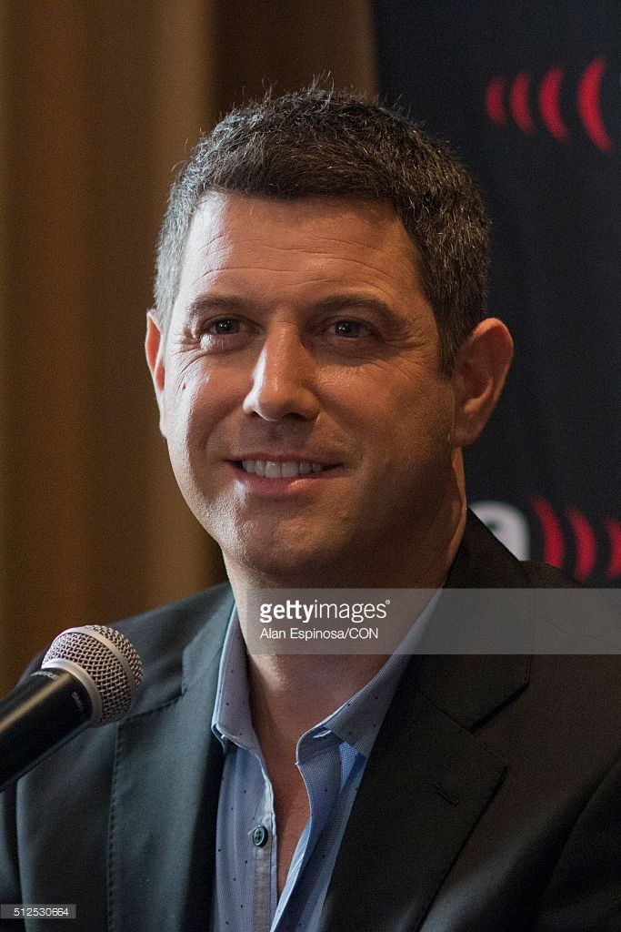 Sebastien Izambard member of the band Il Divo talks to the media during a press conference to announce their presentations as part of the Amor & Pasion Tour 2016 at Hotel Meridien on February 26, 2016 in Mexico City, Mexico.