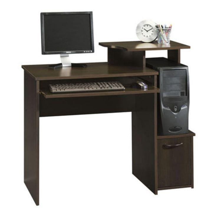 Sauder Beginnings Computer Desk Cinnamon Cherry【2019