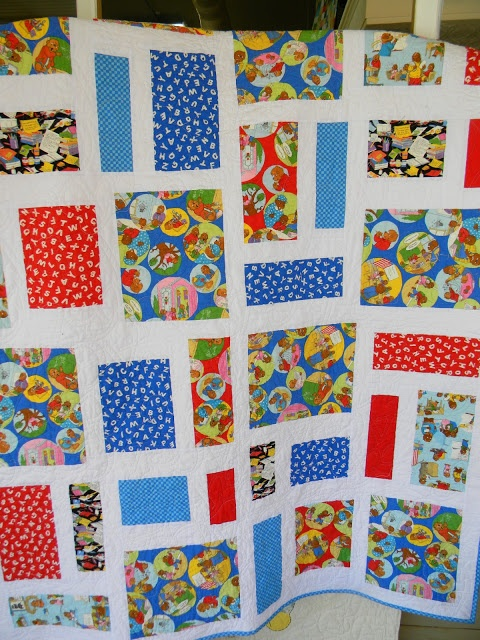 Berenstain Bears Quilt, In Bear Country  Pepperland by Abby Lane pattern