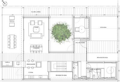 ARQUIMASTER.com.ar | Proyecto: Proyecto Casa Sustentable 3er. Premio (zona bioclimatica IIIb, Argentina) - GB Arquitectos (Maria Eugenia Gatti y Maxi Bolotner) | Web de arquitectura y diseño