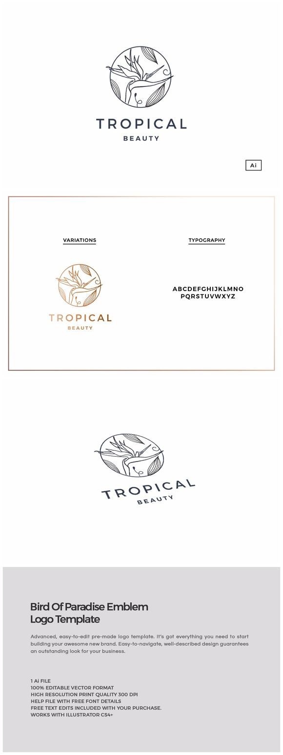 17 best ideas about spa logo beauty logo spa bird of paradise emblem logo