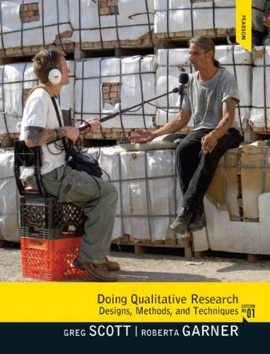 Doing Qualitative Research: Designs, Methods, and Techniques