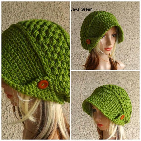 Crochet Cloche Hat Fall Accessories Crochet Cap Fall Wear Winter Accessories Winter Wear Wool Hat Blue Crochet Hat Womens Hat