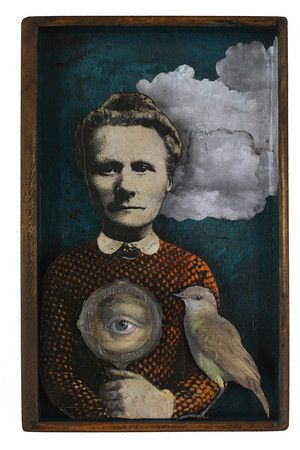 Kass Copeland, Collage/Assemblage/Painting