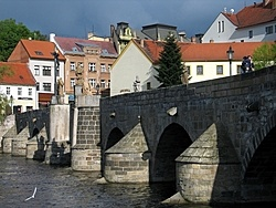 The Stone Bridge, Pisek, Czech Republic