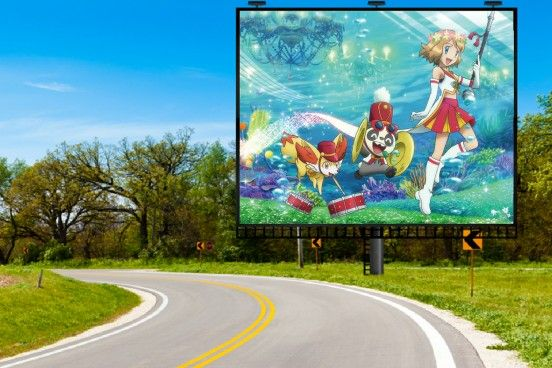 pokemon xy&z serena poster