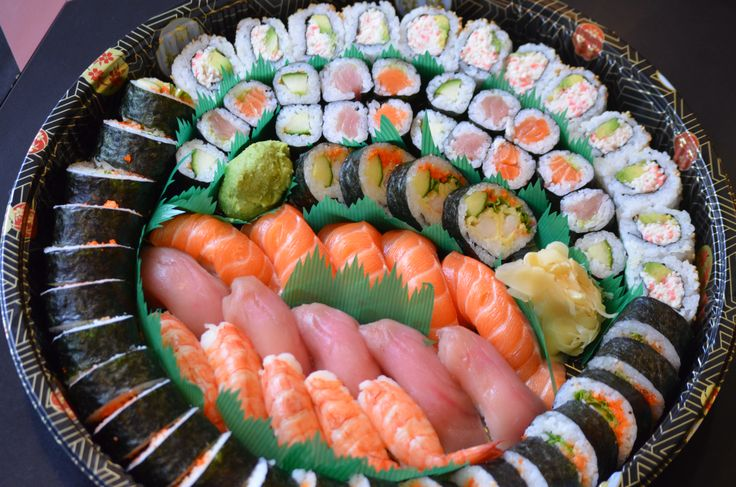 Party Tray A with an extra Dynamite roll