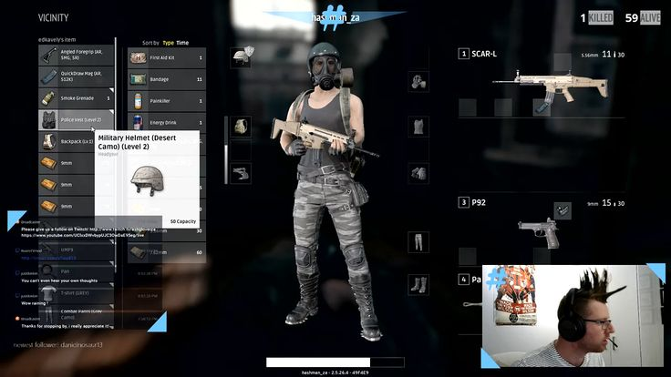 Not sure how... but I sprayed this fool and didn't even damage his armour or helmet! http://crwd.fr/2hKOFWH #gamer # #gaming #gameplay #pubg #battlegrounds #twitch #streamer