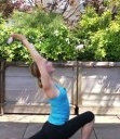 Get your runner's flow with Celeb Trainer Kristin McGee's yoga sequence!