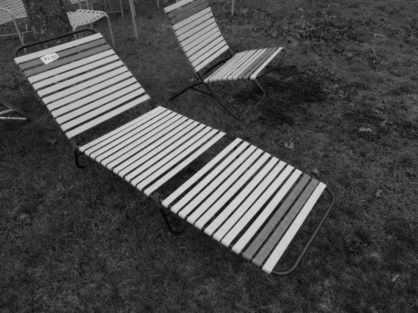 pool lounge chairslawn