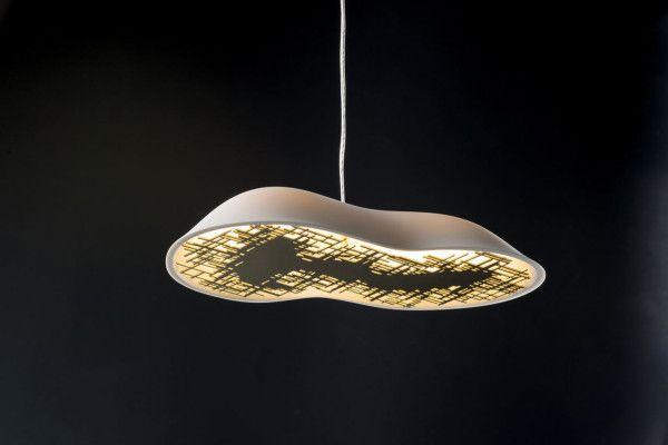 TALISSE: Cloud Like Porcelain Lamps for MODISS Photo