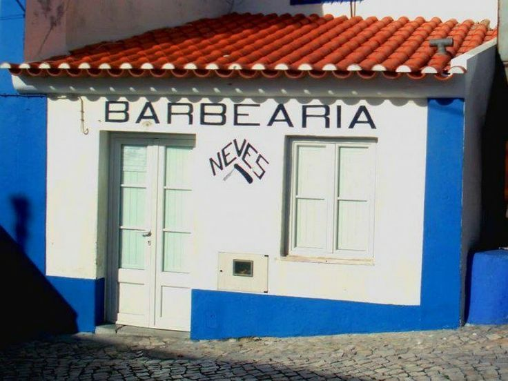 "Need an air cut! Go to ""Barbearia Neves"" in Ericeira with ON Surf Portugal"
