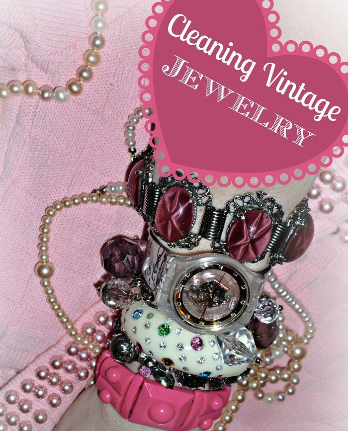 Cleaning Vintage jewelry, Do you know how to clean antique jewelry?  Great tips to get it right