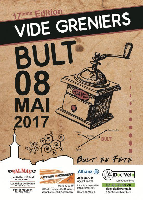 17ième Edition VIDE GRENIERS, Bult (88700), Vosges
