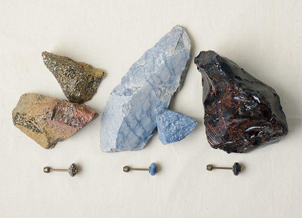Mineral Key Holder, Leopard Skin Jasper, Blue Aventurine and Tokachi.<br>ミネラルキーホルダー、レパードスキンジャスパー、砂金水晶、 十勝石 11月下旬 Postalco Shop 先行発売予定