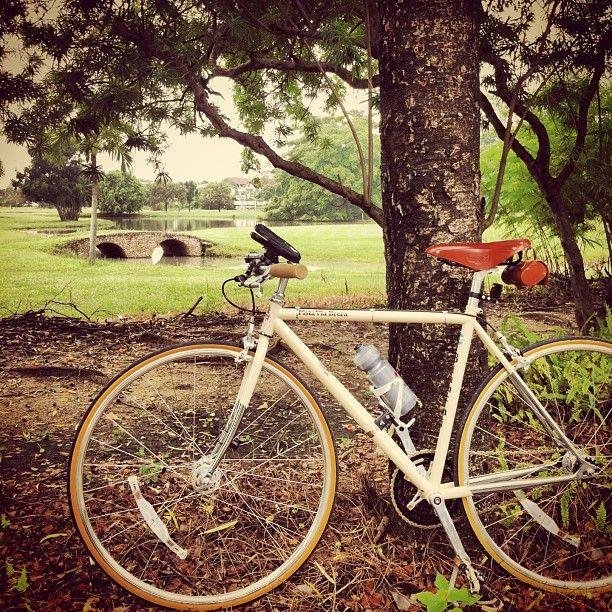 A Ride in North Park with Bianchi Via Brera