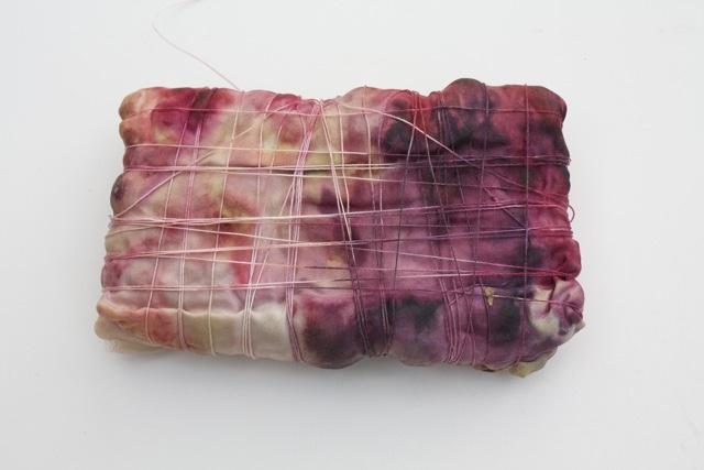 berry crush on silk by knitalatte11
