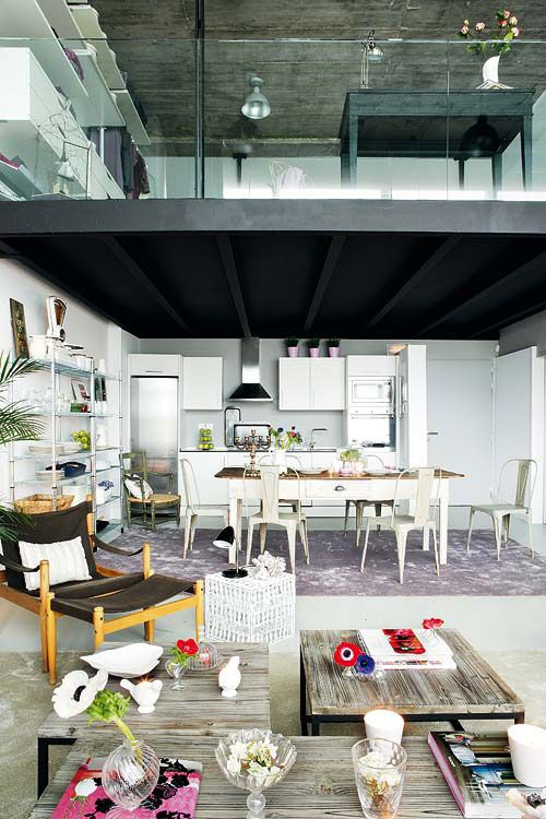 25 Ideas To Use Metal Beams In Interior Design | Shelterness