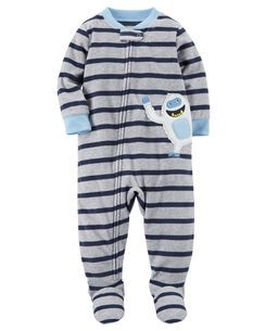 091c6eca9 1-Piece Abominable Snowman Fleece PJs