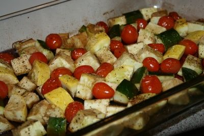 Facebook Twitter Pinterest E-mail YummlyThis is an easy go-to side dish! You can even just toss this on the grill and cook it on there in a metal pan instead. This is NOT my kids favorite side dish, but the do eat it. It is probably my favorite side dish and with summer around the …