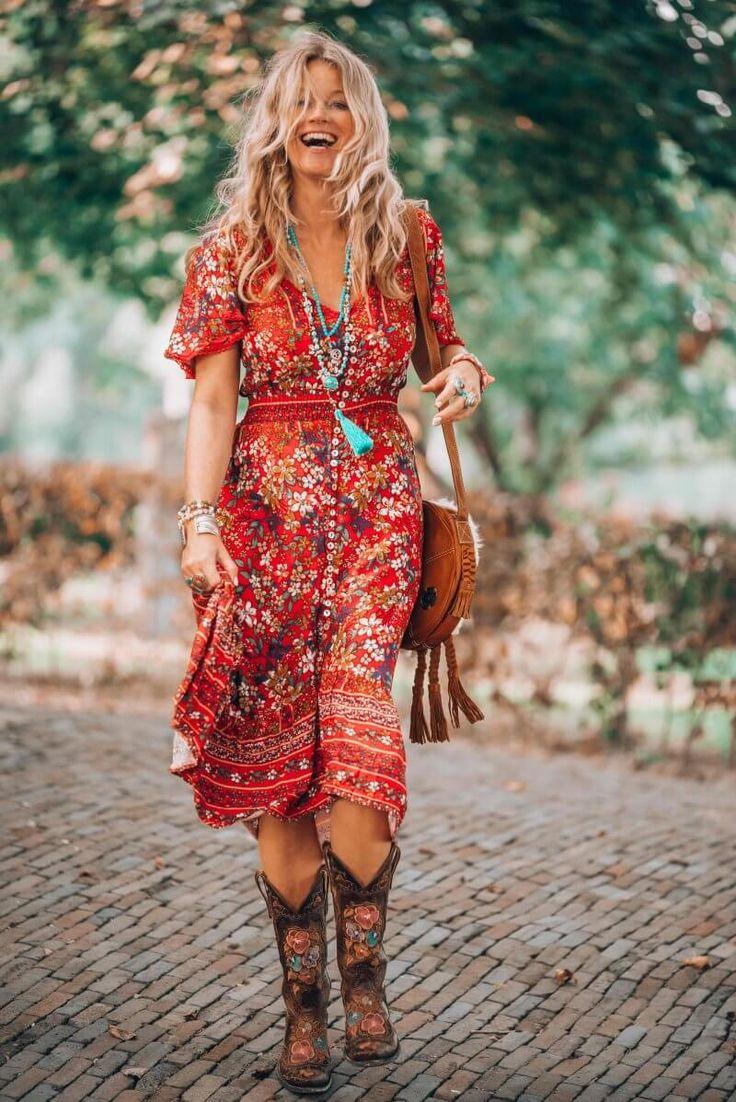 That fabulous red dress bohemian style that has got everybody talking 7