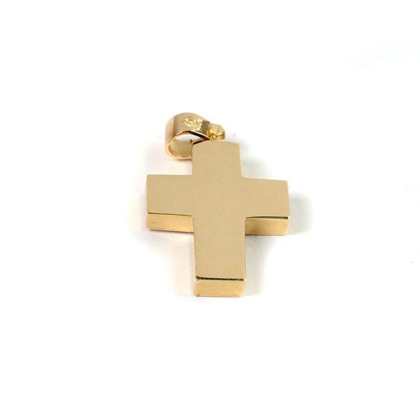 Σταυρός  ανδρικός χρυσό Κ14  7834