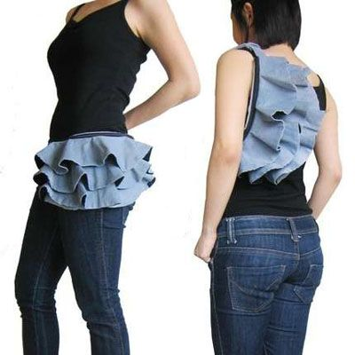Frilly Bum Bags 1