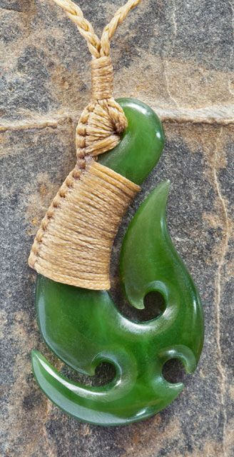Jade Maori Fish Hook                                                                                                                                                      More