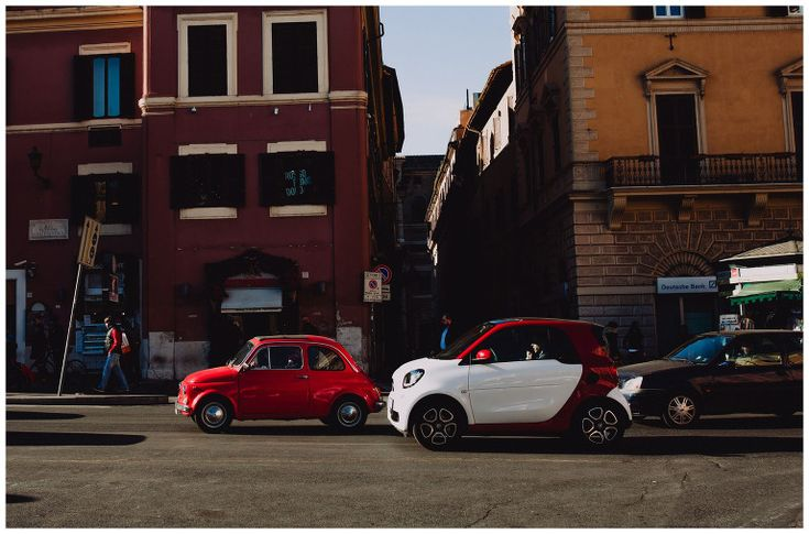 Funny cars in Rome