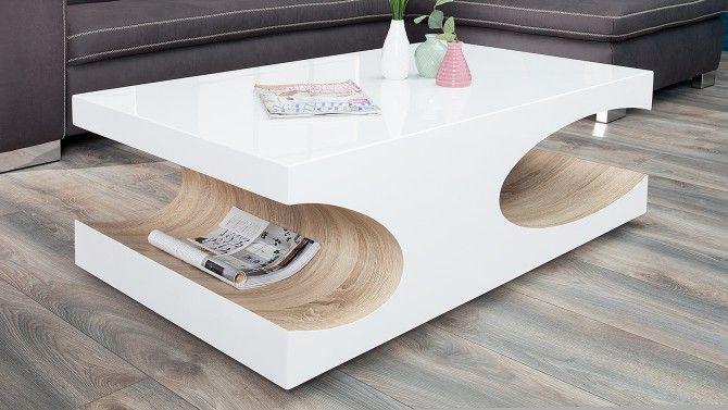 Table De Salon Bois Massif De Palissandre Arrondi Riga Table De